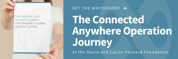 Click to get the whitepaper: The Anywhere Operation Journey at the David and Lucille Packard Foundation